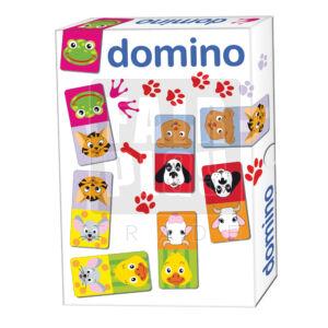 Karton dominó - állatos
