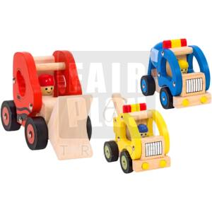 Segítő autók szett - 3 db