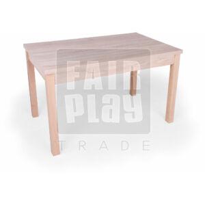 Berni négyzet asztal- világos tölgy