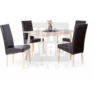 Annabella asztal 4 székkel