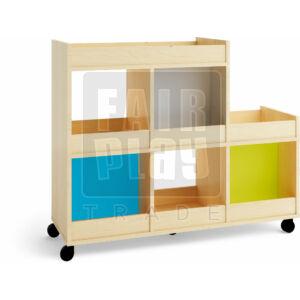 Kolor gurulós kreativ szekrény