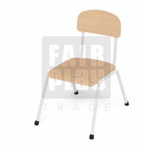 Fémlábas szék - Fehér