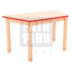 Neo trapéz asztal - Több színben