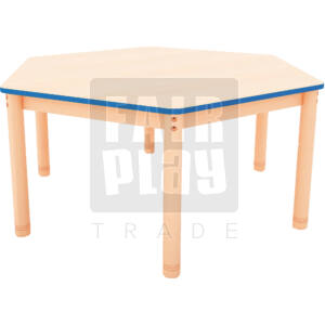 Neo hatszögletű asztal - Több színben
