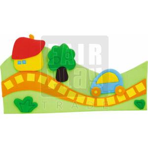 Fali dekoráció - út