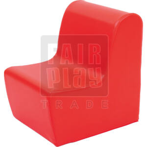 Moduló bölcsis fotel - piros