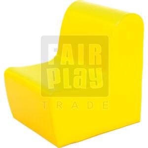 Moduló bölcsis fotel - sárga