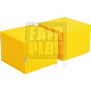 Puff a könytárolóhoz - sárga