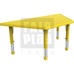Gloomy trapézasztal - sárga