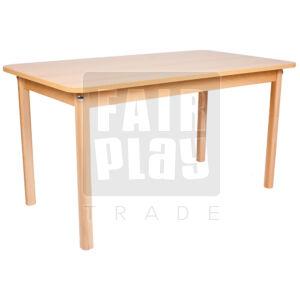 Koko téglalap asztal - Több színben és méretben