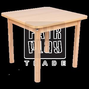 Koko négyzet asztal - Több méretben és színben