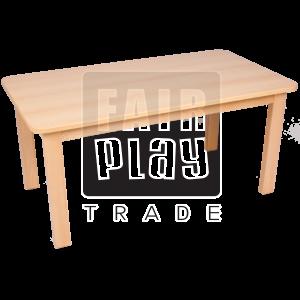 Fair Play téglalap asztal - Több színben és méretben