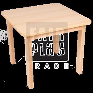 Fair Play négyzet asztal - Több színben és méretben