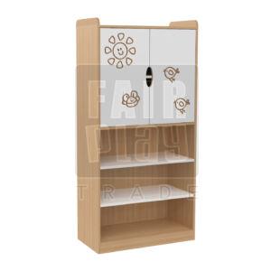 Manó bölcsis felül ajtós szekrény - napocska