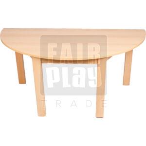 Koko félkör asztal  - Több színben és méretben
