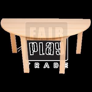 Fair Play félkör asztal - Több színben és méretben