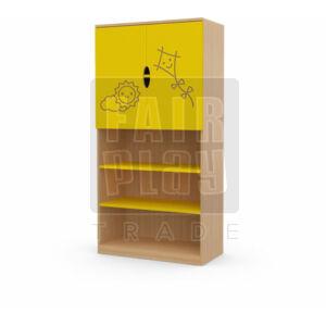 Koko szekrény felül ajtós - papírsárkány