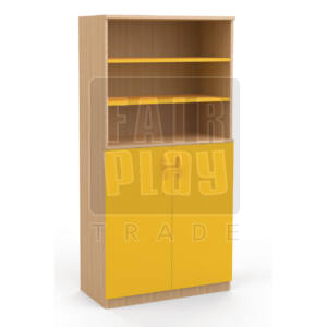 Koko ajtós polcos szekrény