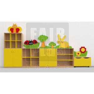 Koko dekor szekrénysor - rét