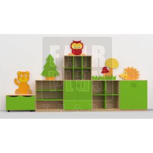 Koko dekor szekrénysor - erdő