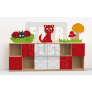 Koko dekor szekrénysor - cica