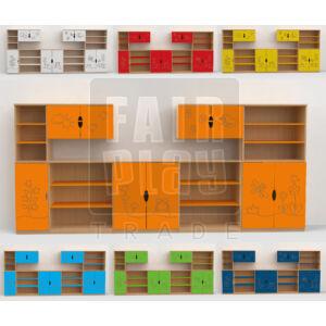 Koko kontúr szekrénysor - rét 2
