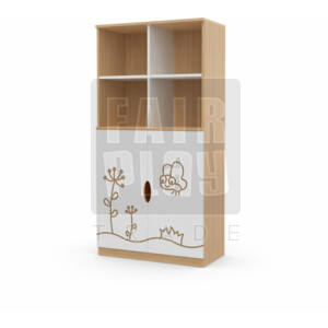 Koko alul ajtós 4 fakkos szekrény - pillangó