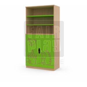 Koko ajtós polcos szekrény - süni