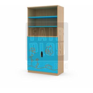 Koko ajtós polcos szekrény - pillangó