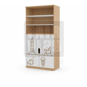 Koko ajtós polcos szekrény - világítótorony