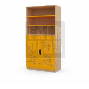 Koko ajtós polcos szekrény - béka