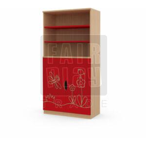 Koko ajtós polcos szekrény - szitakötő