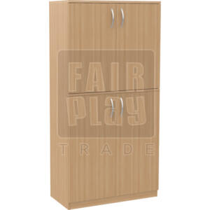 Alap 4 ajtós szekrény
