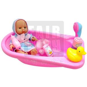 Baba fürdőkáddal