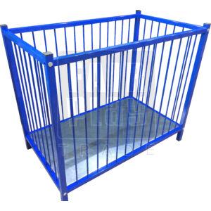 Fém kültéri rácsos ágy