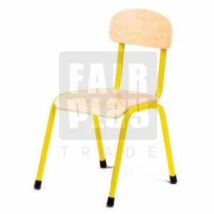 Fémlábas szék - Sárga