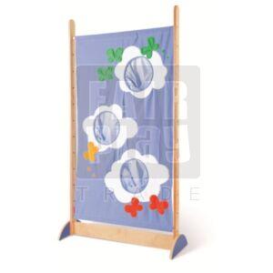 Textilparaván - felhős