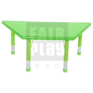 Gloomy trapézasztal - zöld