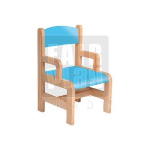 Karfás szék - kék - Több méretben