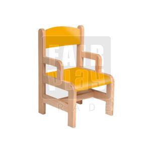Karfás szék - narancs - 26 cm
