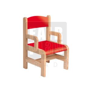 Karfás szék - piros - Több méretben