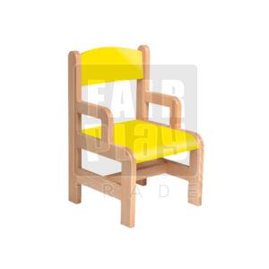 Karfás szék - sárga - Több méretben