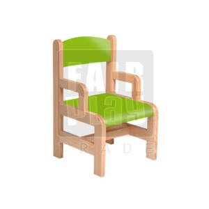 Karfás szék - zöld - Több méretben