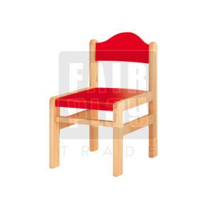 Koko szék - piros - Több méretben