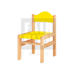 Koko szék - sárga - Több méretben
