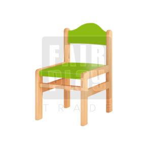 Koko szék - zöld - Több méretben