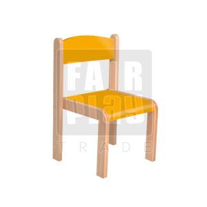 Mangó rakasolható szék - narancs - Több méretben
