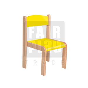 Mangó rakasolható szék - sárga - Több méretben