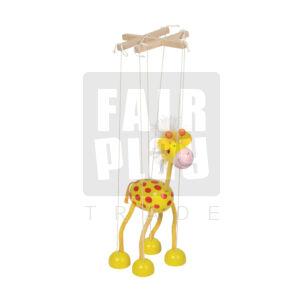 Marionettbáb - zsiráf