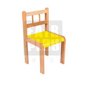 Peti szék - sárga - Több méretben
